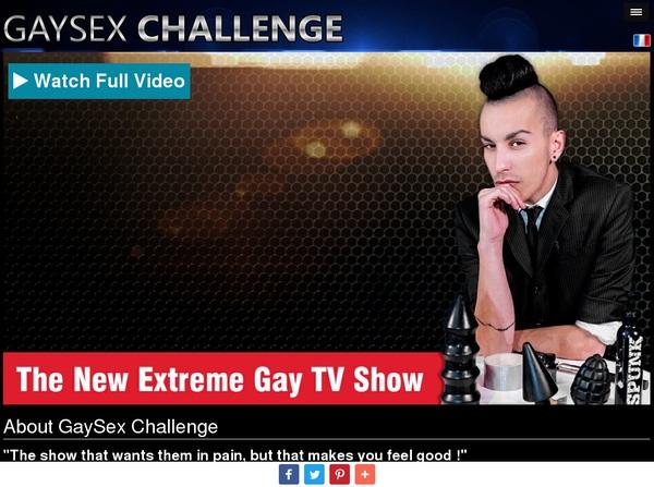 Free Gay Sex Challenge Passwords 2018